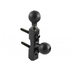 "Motorcycle Handlebar Base with Two 1"" Balls"